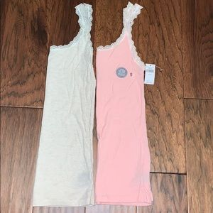 Lot of 2 aerie tanks